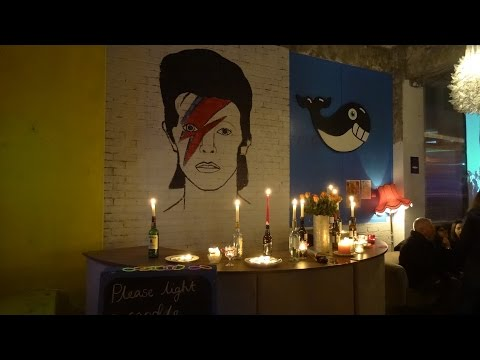David Bowie tribute. Observer Hastings.
