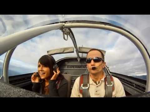 RV-7 flight with my stylist