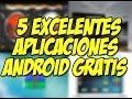 TOP 5 Apps para Android MUY interesantes | DJ android : Happy Tech