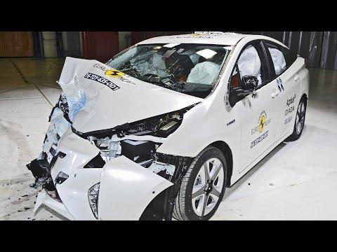 CRASHES: 2016 Toyota Prius