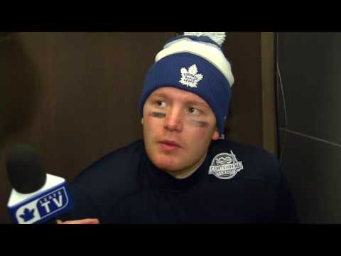 Maple Leafs Post-Game: Frederik Andersen - January 1, 2017