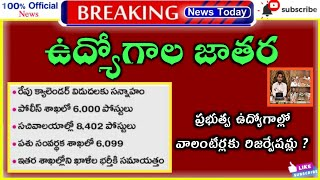 AP Jobs calendar 2021 latest news today | APPSC jobs calendar | Grama Sachivalayam 3rd Notification