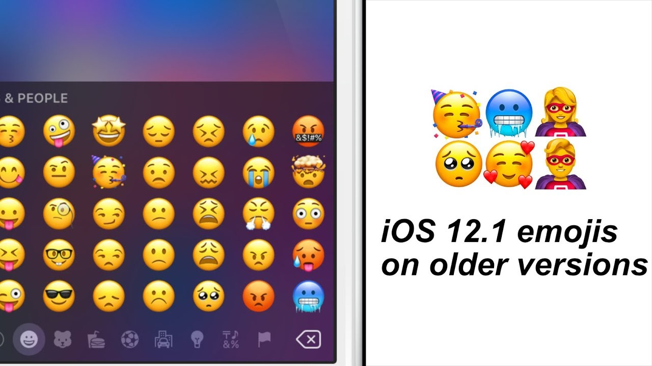 How to GET iOS 12 1 Emojis on iOS 11 - 11 4 1 / 10 (Jailbreak Only)