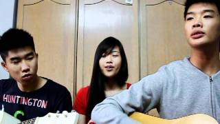 You Are My Strength - Hillsong (Acoustic Cover by Ernest, Elaine & YiShien)