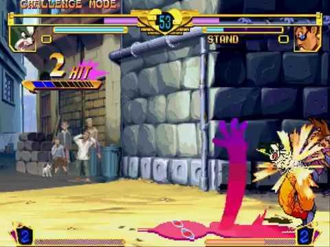 JoJo's Bizarre Adventure CPS3 Euro 990913 Capcom jojobaner1