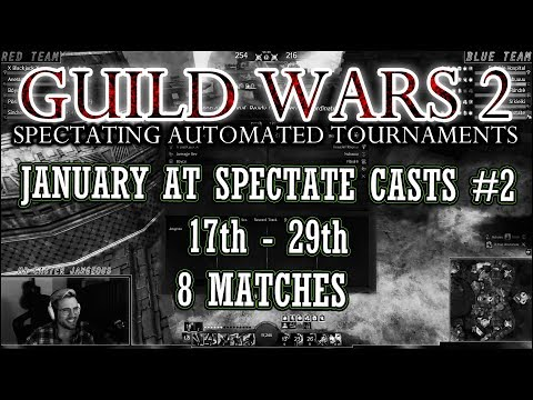 Guild Wars 2 - EU Daily Automated Tournaments - January Compilation #2 thumbnail