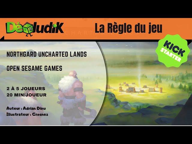 Northgard Uncharted Land -  La règle du jeu - Kickstarter -  Open  Sesame Games
