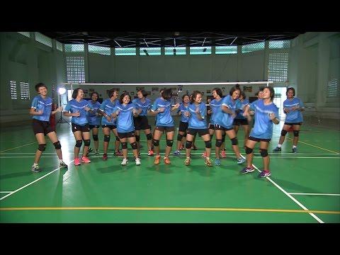 Scoop idol ThaiPBS Girl Vollayball super series 2016 : โรงเรียนกีฬาจังหวัดอ่างทอง