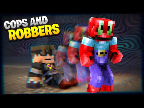 Minecraft MODDED Cops And Robbers | ARE YOU FEELING IT NOW MR KRABS?