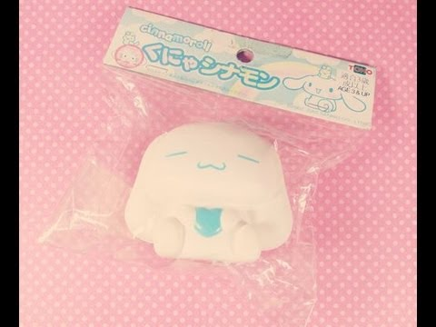 New Squishy   Rare Cinnamoroll Squishy - YouTube