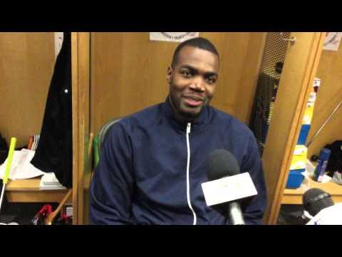 Atlanta Hawks Paul Milsap funny reaction in post game interview