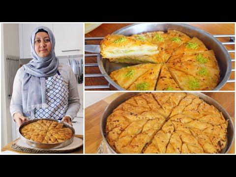 Easy Turkish Baklava 2 Ways | Walnut & Pistachio