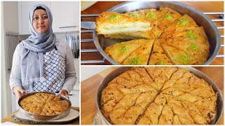 Easy Turkish Baklava 2 Ways | Walnut & Pistachio