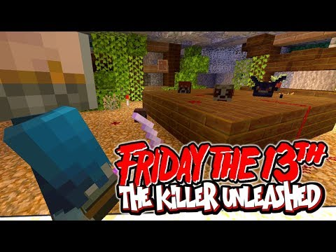 Minecraft xbox : Friday the 13th - The Killer is UNLEASHED !!