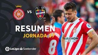 Resumen de Girona FC vs Levante UD (1-2)