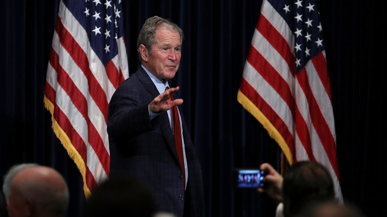 'Sickening and heartbreaking sight': Former President George W ...