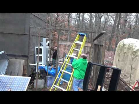 Huge Surprise & Putting Rafters On My Off Grid Solar Shed
