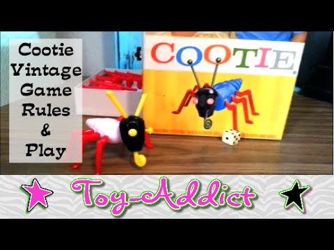 Vintage Game ~ Cootie ~ Rules & Game Play ~ Toy-Addict