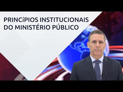 Princípios institucionais do Ministério Público – com professor Fernando Capez