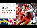 Chargers vs chiefs week 15 highlights  nfl 2018