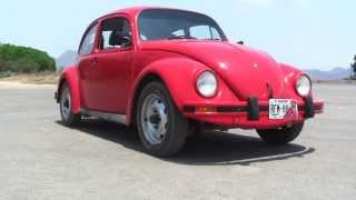 VW Beetle Start Up and 0-100