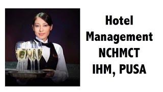 Service Aptitude + Hospitality GK for Hotel management entrance exam NCHMCT / IHM / PUSA