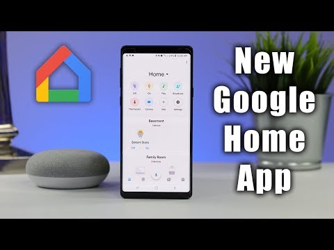 Full Tour of the NEW Google Home App