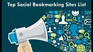 Social Bookmarking SEO Tutorial for Beginners 2018