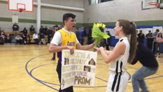 Basketball player gets
