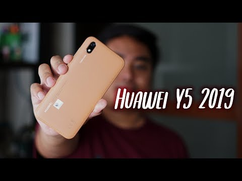 Huawei Y5 2019 Unboxing and First Impressions
