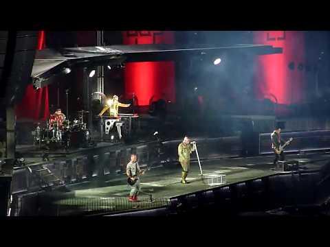 HD - Rammstein - Links 2-3-4 (live TZ7) @ Ernst Happel Stadion, Vienna 2019 Austria