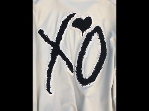 Roots XO The Weeknd 2015 White Lambskin Leather Varsity Tour Jacket Review