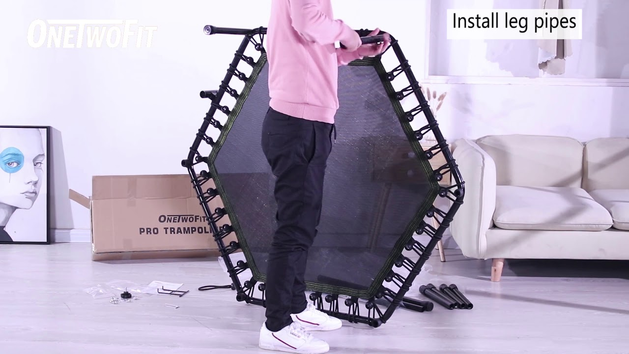 How To Assemble OneTwoFit Mini Trampoline | OneTwoFit ...