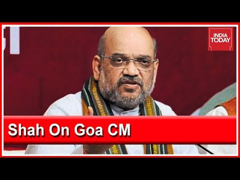 BJP Chief Amit Shah Speaks About Decision On New Goa CM