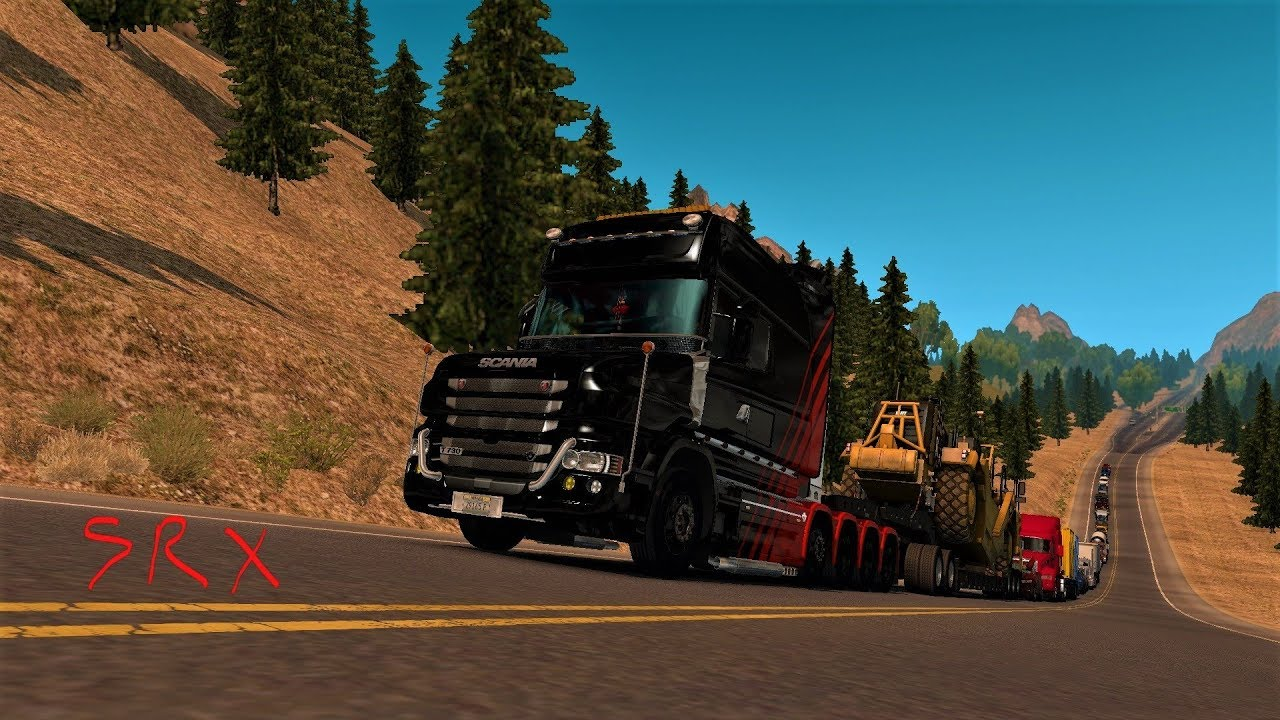 american truck simulator mountain truckin big brutte. Black Bedroom Furniture Sets. Home Design Ideas