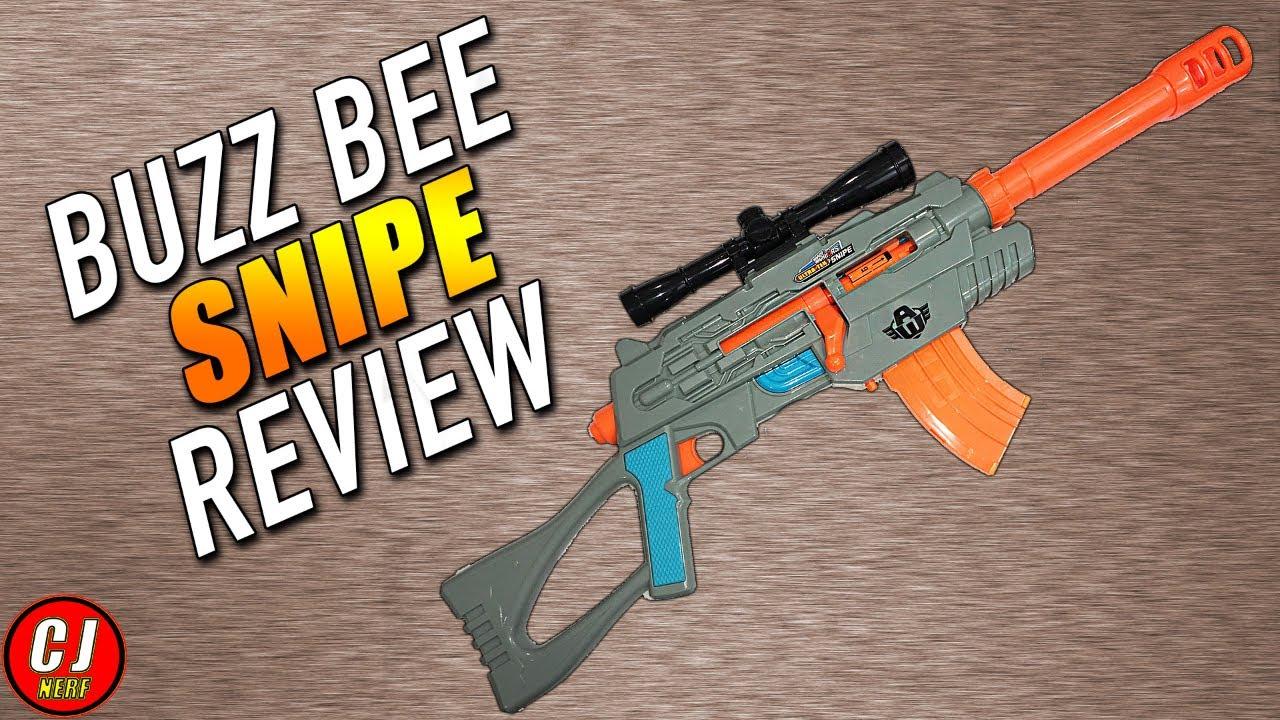 Air Warriors Ultra Tek Snipe Review Buzz Bee Toy Guns Youtube