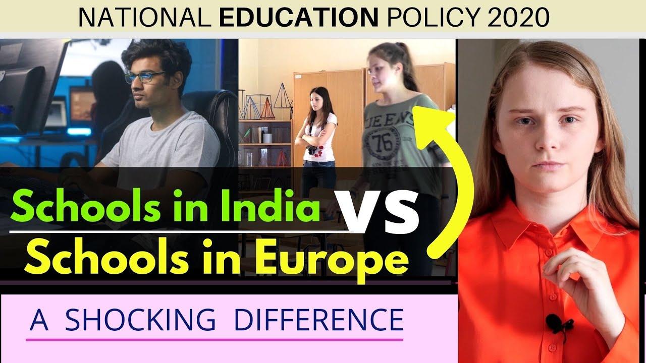NEP 2020 | Schools in India vs Schools in Europe | Why importance to Sanskrit? | Karolina Goswami