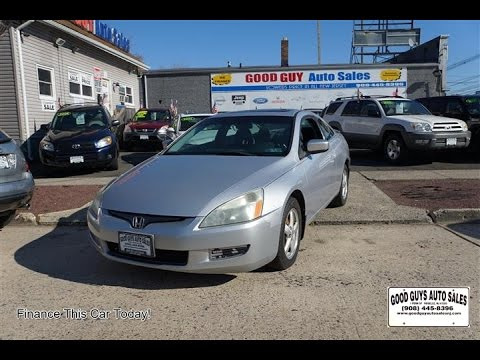 2005 honda accord ex l coupe youtube
