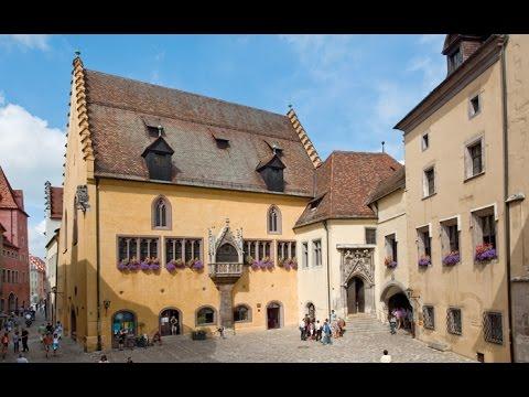 GERMANY Regensburg (hd-video)