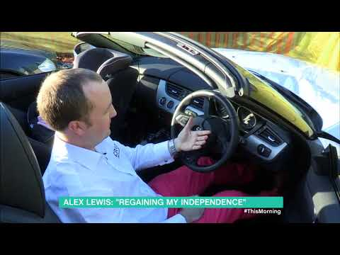 ITV This Morning Alex Lewis and BioTeq