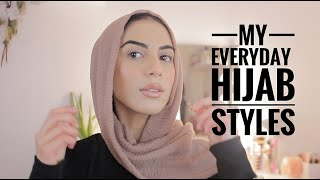 5 Hijab Styles I Cant Live Without!