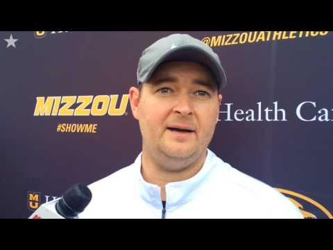 Mizzou OC Josh Heupel expects Kendall Blanton to be a weapon