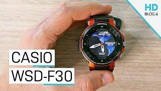 RECENSIONE Casio Pro Trek WSD-F30: solo per avventurieri