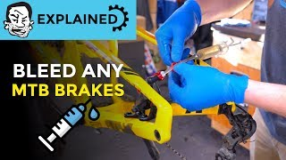 How to bleed MṪB brakes