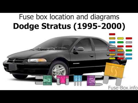 Fuse box location and diagrams: Dodge Stratus (1995-2000) - YouTubeYouTube