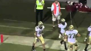 2008 Tribe Football: D.J. McAulay Highlights vs. N.C. State