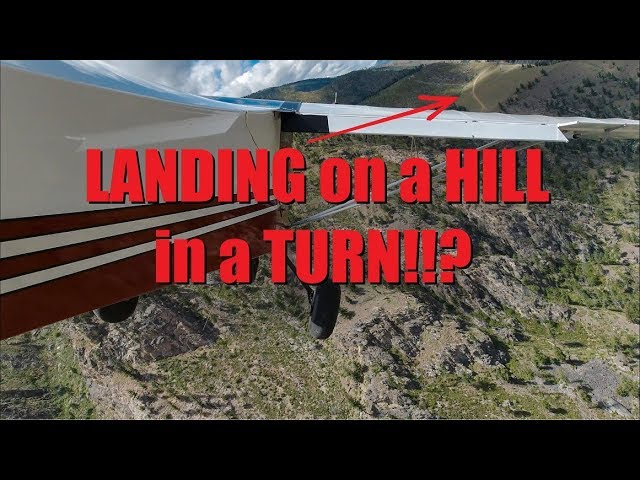 Landing and Departing Soldier Bar USFS Strip Idaho Backcountry in a RANS - 4K