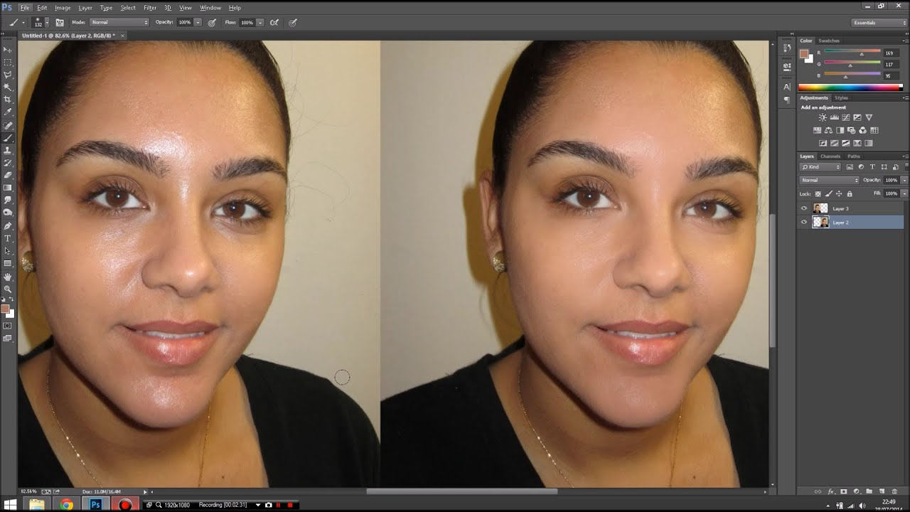 How to remove shine from the face 33