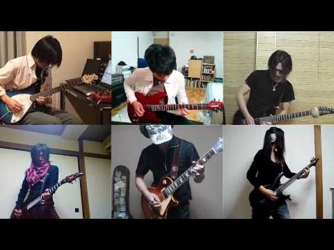 Canon Rock performed by Japanese band guitar