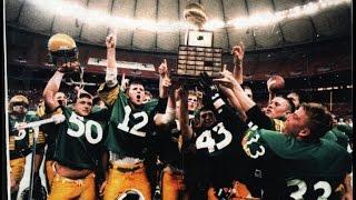 "1993 Kingbowl AAA State Champions Tumwater ""Winning"" Football"